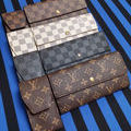 二つ折り長財布とシガレットケースのセット☆いずれか1セット