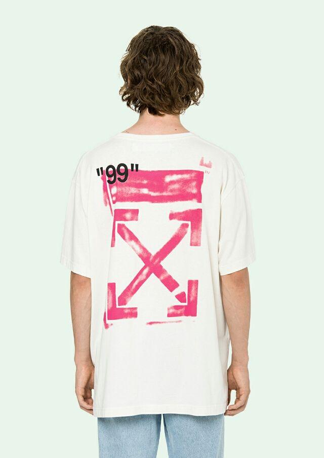 STENCILストライプオーバーサイズTシャツ