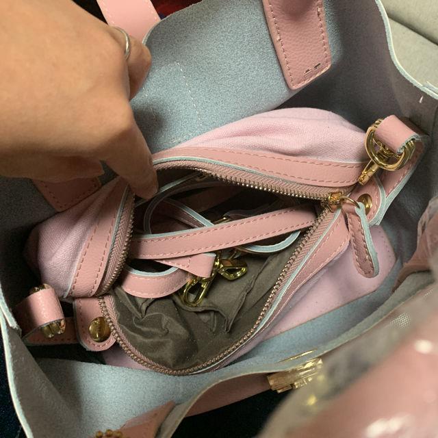 ハンドバッグ バック 鞄 春色 ショルダーバッグ 斜めがけ