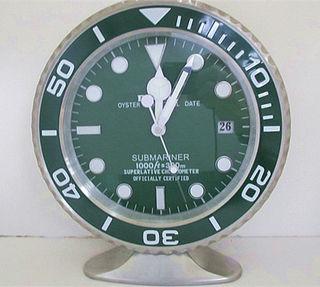 Rolex  submariner置き時計