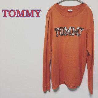 激レア TOMMY トミー ビッグロゴ 長袖 Tシャツ