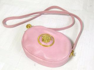 美品 レア ヴェルサーチ ショルダーバッグ ピンク