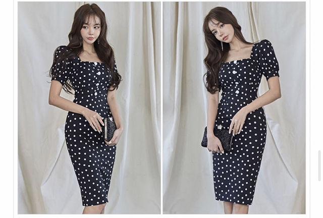 新品未使用品韓国ワンピドレス