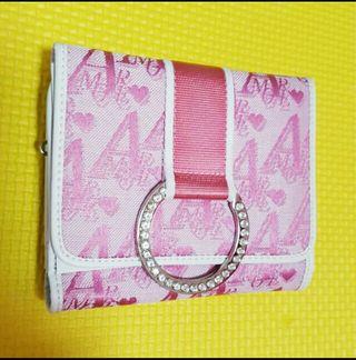 Ra IrideAMORE キラキラバックル付三つ折り財布
