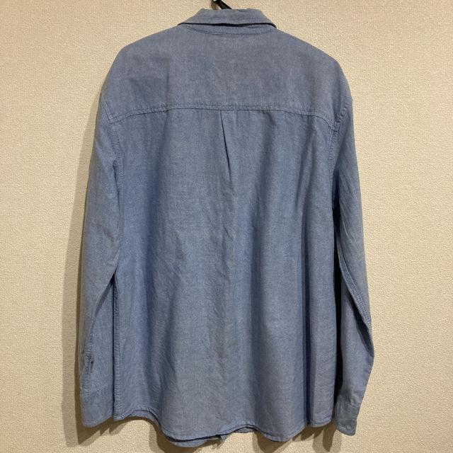 CHEROKEE ボタンダウンシャツ ブルーシャツ
