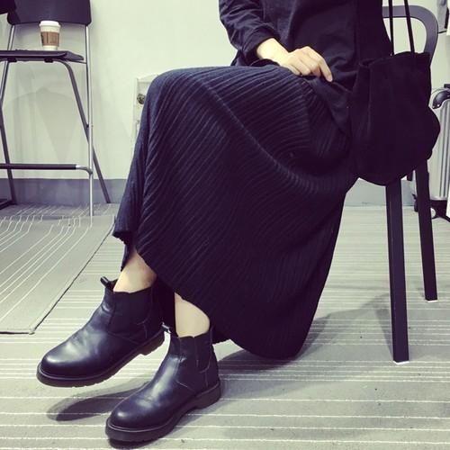 13  美脚 体型カバー ロングスカート