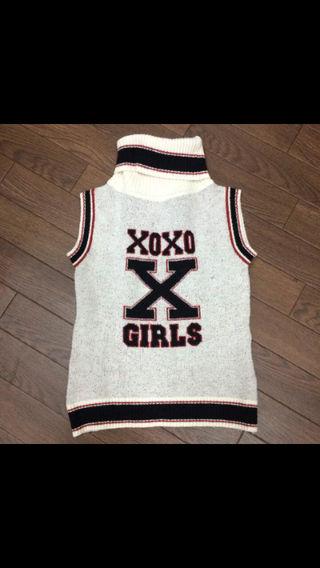 XOXO ノースリーブニット