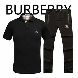 バーバリーTシャツ上下セットTシャツ&パンツ  セット販売