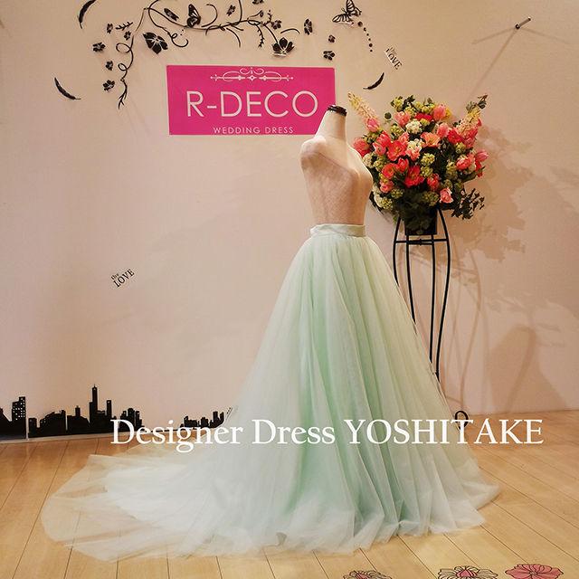 ウエデイングドレス 人気のセパレートドレス