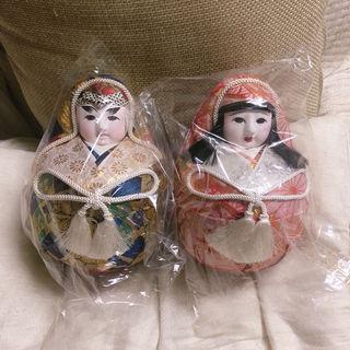 昭和レトロ 姫だるま 人形