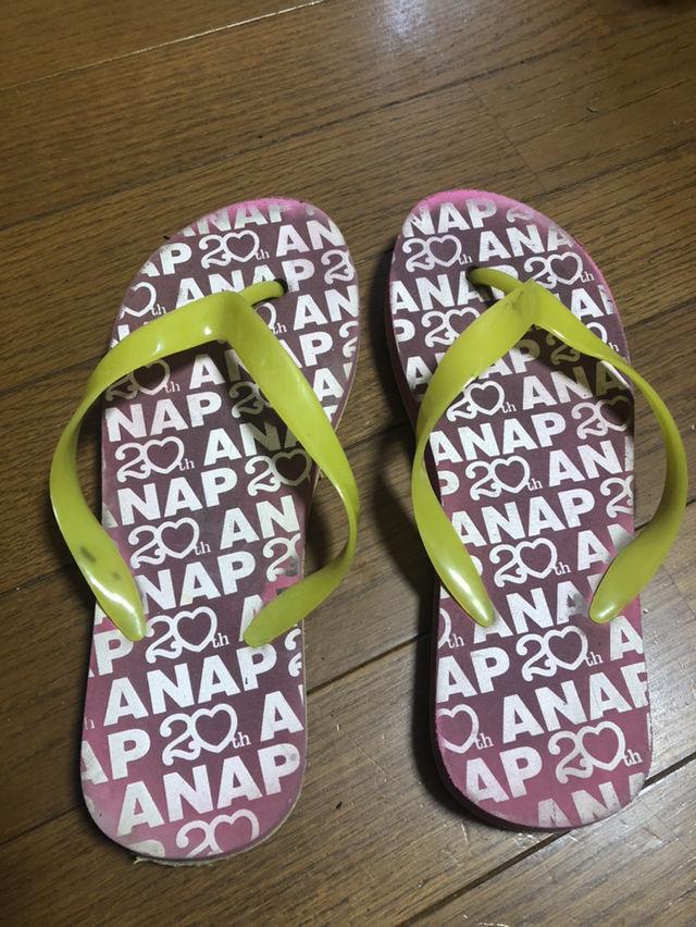 ANAPビーチサンダル(ANAP(アナップ) ) - フリマアプリ&サイトShoppies[ショッピーズ]