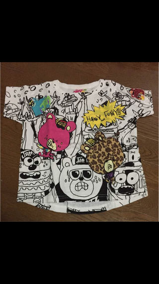 ジャム ワイドTシャツ