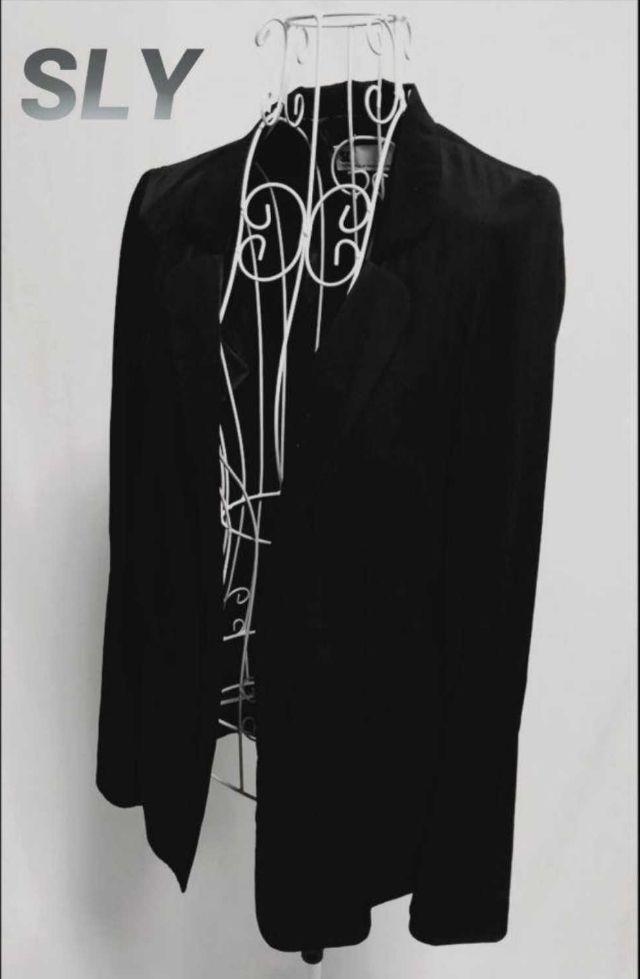 SLY テーラードジャケット ブラック 1