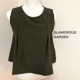 GLAMOROUS GARDEN / ノースリーブトップス