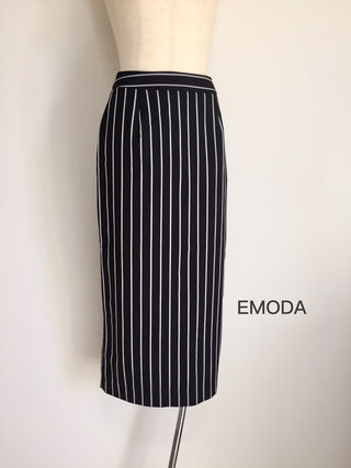 【新品】EMODAストレートミディスカート