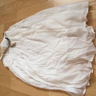 白 ロングスカート