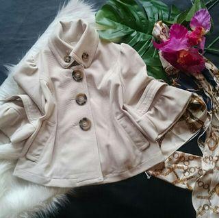 新品!COCODEAL五分袖×フレアスリーブジャケット