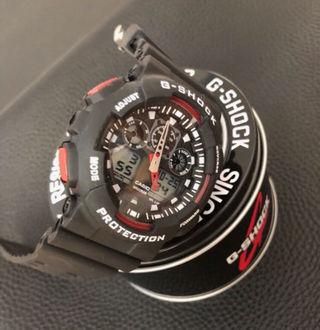 G-SHOCK 腕時計 黒赤