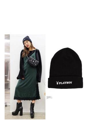 新品 EVRIS×PLAYBOY ニット帽