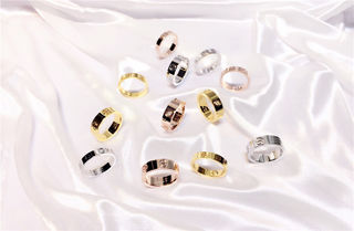Cartier 人気美品 男女兼用美品 指輪/リング