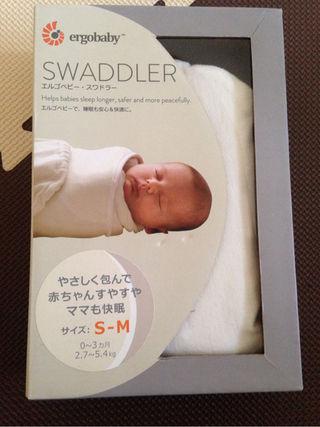 【送料無料】エルゴベビー・スワドラー 新品未使用正規品!