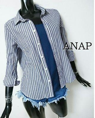 ANAP*ストライプシャツ