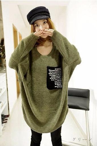 ドルマン袖セーター/トップス全2色★  - フリマアプリ&サイトShoppies[ショッピーズ]