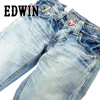 新品 エドウィン ブルートリップ515 デニムジーンズU66