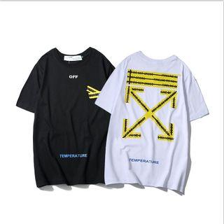 新品 男女兼用  人気 TシャツOFF-34