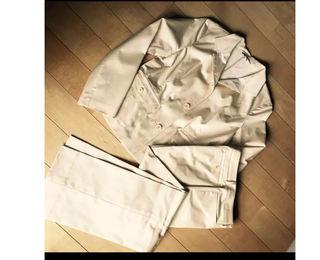 (送料無料)BURBERRYパンツスーツ