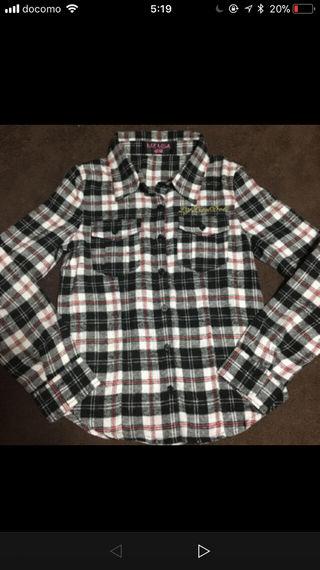 リズリサドールのチェックシャツ!