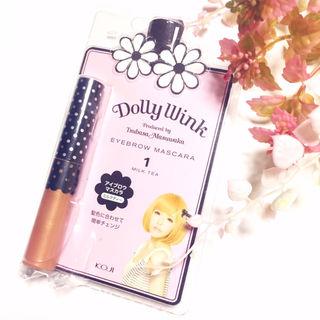 新品Dolly Wink アイブロウマスカラ