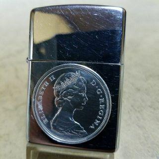厳選中古97H'Zippoクイーンエリザベスコイン