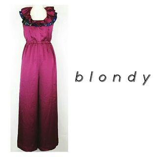 定価30240円 blondy オールインワンホルターネック