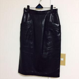 BEAMS インポート レザースカート