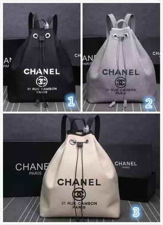 シャネルCHANEL1012 デニムリュックバック 鞄