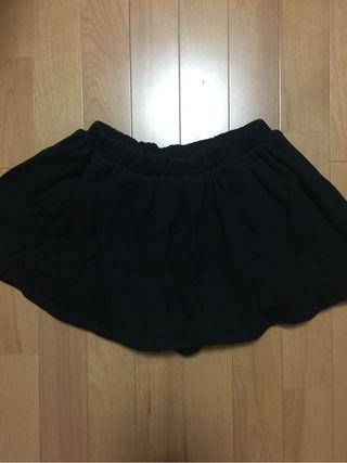 ニーナミュウ  ネイビー厚手スカート