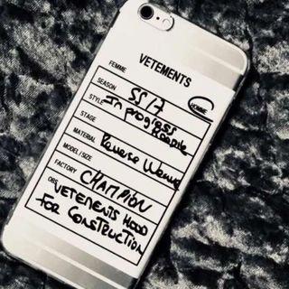 VETMENTS iPhone7/8ケース