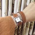 エルメスherレディース クリスタルクオーツ腕時計