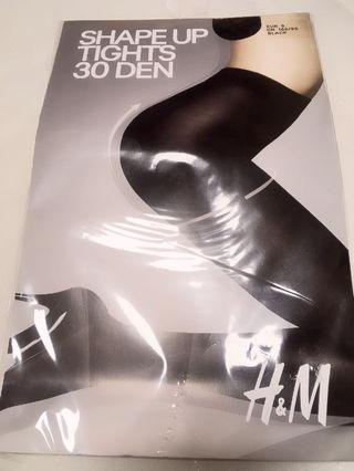 定価1078円H&M シェイプUP 30デニール