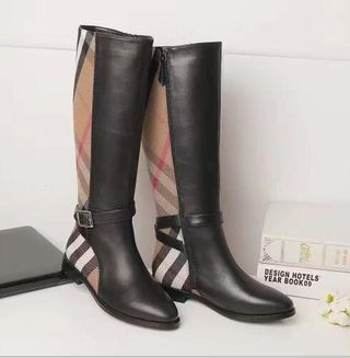 Buberry ロングブーツ  長靴