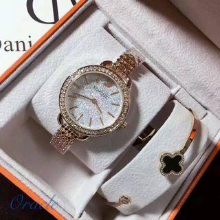 SWAROVSKI 人気クォーツ腕時計 シャレな注目の腕時計