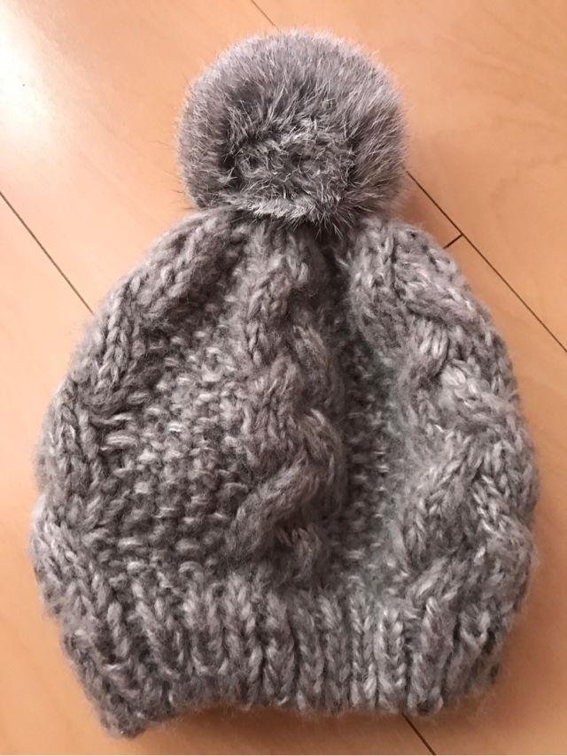 ぽんぽんニット帽