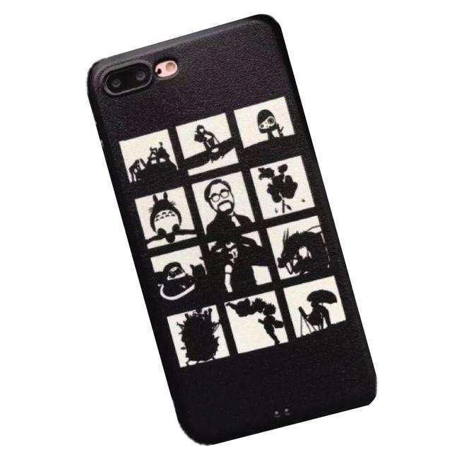 新品iphone8/7ケースカバージブリトトロ人気安い黒