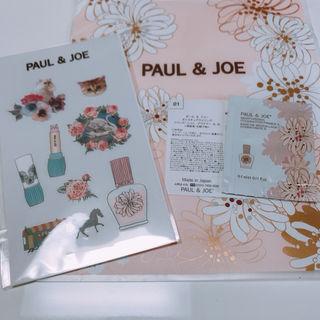 PAUL & JOE 限定/ステッカー&サンプル