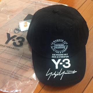 y-3 サインロゴキャップ帽子