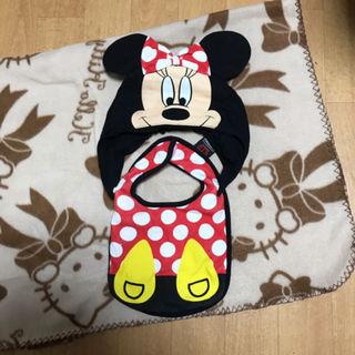 BABY DOLLミニーちゃんスタイ+帽子2点セット