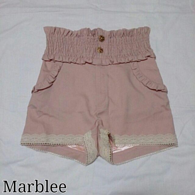 Marblee*フリルショートパンツ