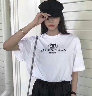 バレンシアガTシャツ 男女兼用