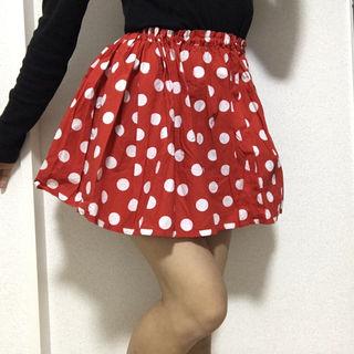 ミニーちゃん風 スカート
